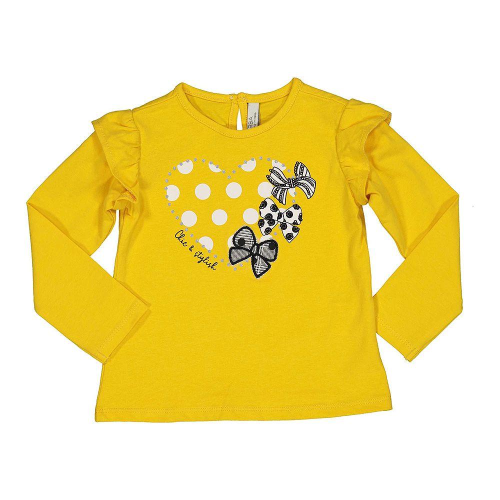 Baby majica za djevojčice s volanima picture