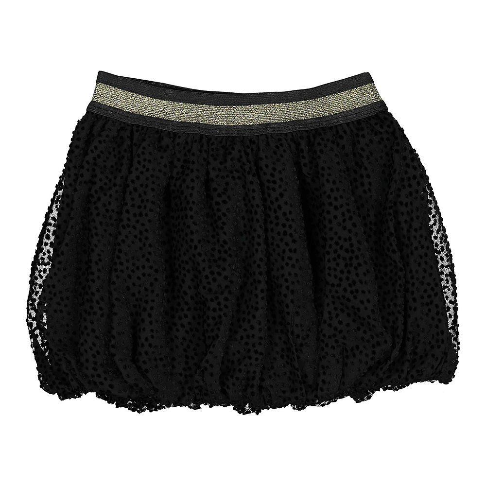 Crna suknja za djevojčice sa shinny pasicom picture