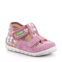 Roze personalizirane papuče za djevojčice s dva čička picture