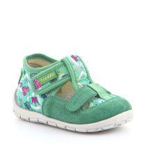 Tirkizne personalizirane papuče za djevojčice s dva čička picture