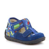 Plave personalizirane papuče s dva čička za dječake picture
