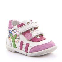 Froddo cipele za prvi korak za djevojčice u bijelo - rozoj boji picture