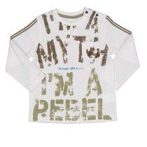 Baby majica dugih rukava sa REBEL printom picture