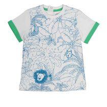 Baby pamučna majica s motivima đungle i životinja picture