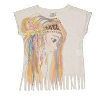 Majica kratkih rukava za djevojčice sa orijentalnim motivom picture