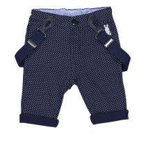 Baby pamučne hlače s tregerima picture