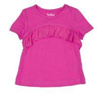 CycleBand majica s volanima za djevojčice u rozoj boji picture