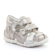 Kožne sandale za djevojčice Froddo s ukrasnim mašnicama picture