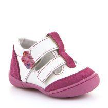Sandale za djevojčice u bijelo-rozoj boji picture