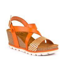 Ženske narančaste sandale Yokono picture