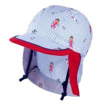 Dječja kapa s plaštom i UV +30 zaštitom picture