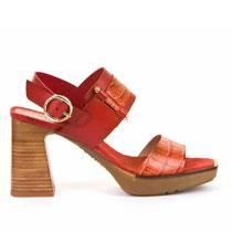 Ženske sandale crvene boje Hispanitas picture