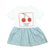 Baby haljina s printom trešnje Sanik picture