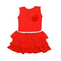 Crvena haljina za djevojčice Sanik picture