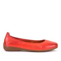 Ženske balerinke Josef Seibel u crvenoj boji picture