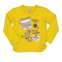 Baby majica žute boje za djevojčice picture