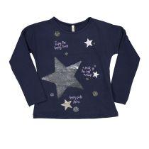Dječja majica s printom zvijezda picture