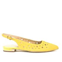 Ženske sandale Stefano u žutoj boji picture