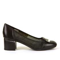 Ženske crne cipele na petu Stefano picture