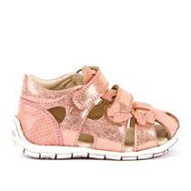 Zatvorene sandale s leptirićima za djevojčice picture