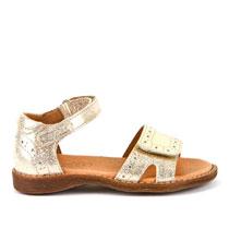 Sandale za djevojčice s otvorenim prstima i zatvorenom petom picture