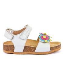 Sandale za djevojčice s đonom od prirodnog pluta picture