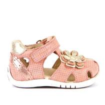 Zatvorene sandale za djevojčice s 3D ukrasima picture