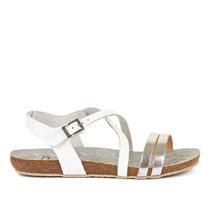 Ženske srebrne sandale Yokono picture